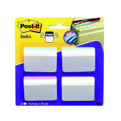 Index pt dosare suspendate 51x38mm,4culx6file Post-it