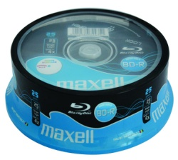 BD-R 25GB 4x 25buc/spindle Maxell