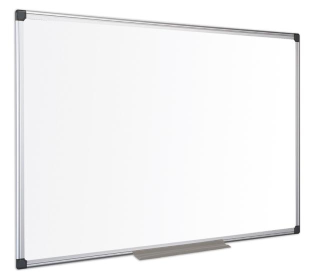 whiteboard magnetic cu rama aluminiu 120 x 90cm bi silque. Black Bedroom Furniture Sets. Home Design Ideas