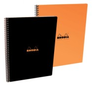 Caiet A4+ spirala 80 file Clairefontaine Rhodia Classic