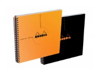 Caiet 21x21cm spirala 80 file Clairefontaine Rhodia Reverse