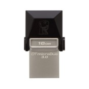 USB Flash Drive Kingston 64GB DT MicroDuo, USB 3.0, micro USB OTG