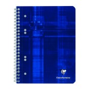 Caiet A5+ spirala 80 file Clairefontaine