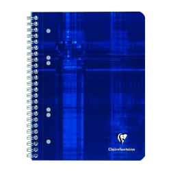 Caiet A5+ spirala 80 file Clairefontaine Metric