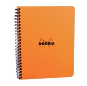 Caiet A5+ spirala 80 file Clairefontaine Rhodia Classic