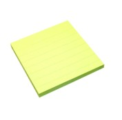 Notes adeziv 100x100mm 100 file liniat Info Notes