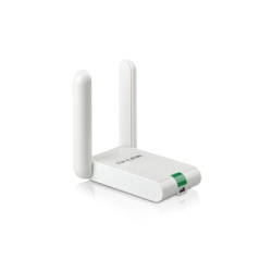Adaptor wireless TP-Link, N300 HIGH GAIN, USB2.0, 2 antene fixe, Atheros