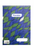 Blocnotes A4 spirala 50 file Forster