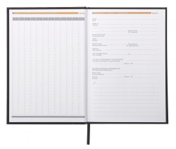Caiet A5 92 file Clairefontaine Rhodia Business