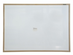 Whiteboard magnetic cu rama lemn 80 x 60cm Forster